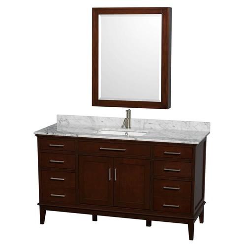 Hatton Collection 60 in Single Bathroom Vanity in Dark Chestnut [WCV161660SCDCXSXXMXX]
