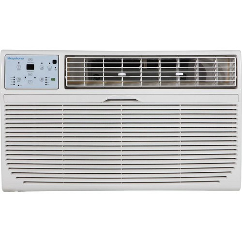 Keystone 8,000 BTU 115-Volt Through-the-Wall Air Conditioner with Heat and Remote