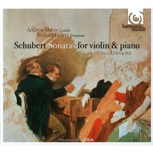 Schubert: Sonatas for violin & piano [CD]