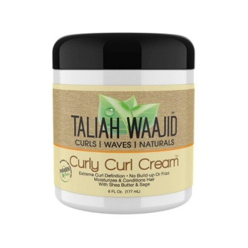 Taliah Waajid Curls, Waves and Naturals Curly Curl Cream, 6 Ounce [Pack of 1]