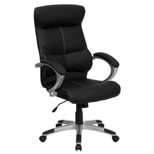 Flash Furniture High Back Black Leather Executive Swivel Chair [black]