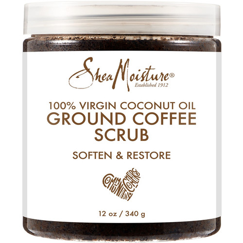 Coconut Oil Coffee Scrub