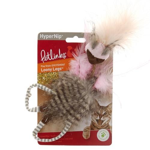 Petlinks HyperNip Loony Legs Ostrich Cat Toy
