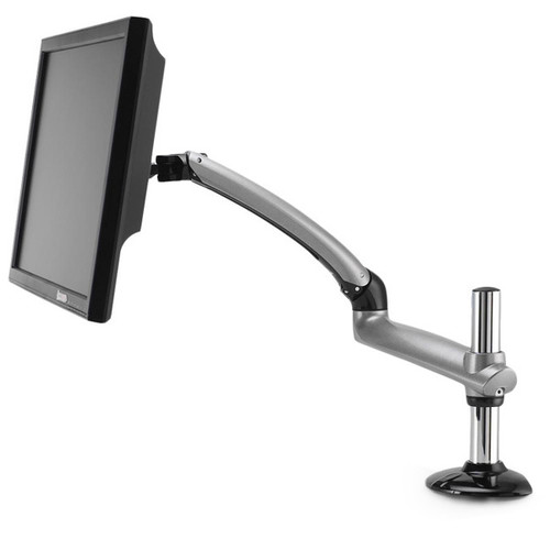 Cotytech Expandable Desk Mount Silver Spring Arm