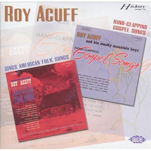 Sings American Folk Songs/Hand-Clapping Gospel Songs [CD]