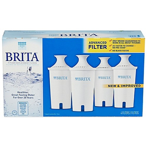 Brita 4-Pack Replacement Filters
