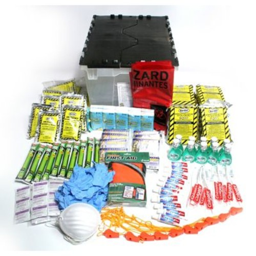 Ready America Rapid Care 10 Person Emergency Kit