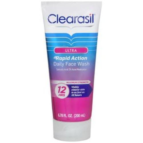 Clearasil Ultra Rapid Action Daily Face Wash, 6.78 OZ
