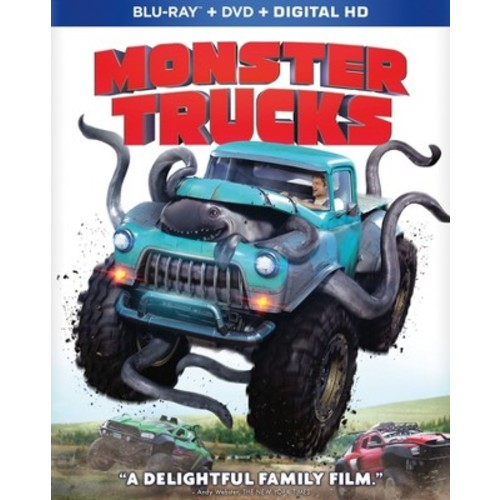 Monster Trucks (Blu-ray + DVD + Digital)