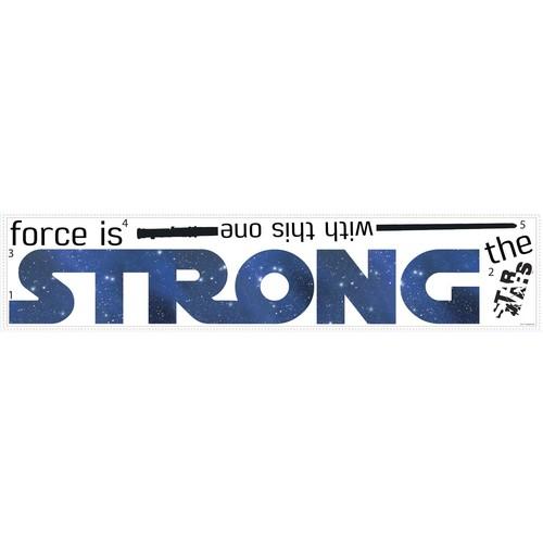 RoomMates Star Wars The Force Peel \u0026 Stick Wall Decals