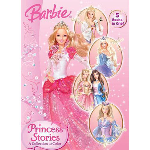 Barbie Princess Stories A Collection to Color