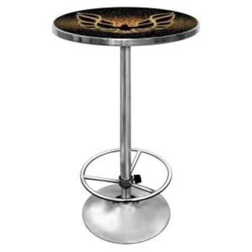 Trademark Pontiac Firebird Black Pub/Bar Table