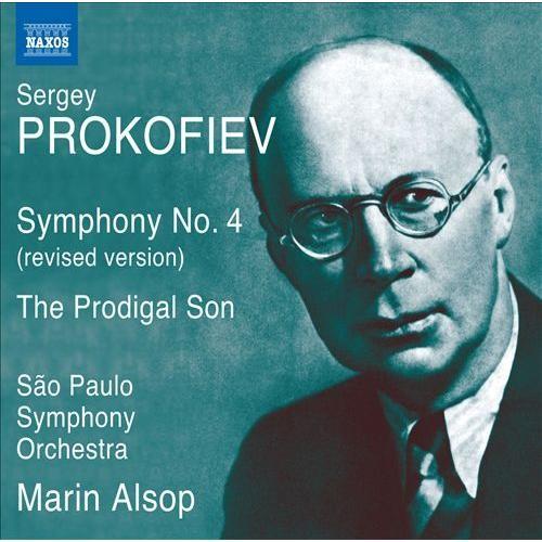 Prokofiev: Symphony No. 4; The Prodigal Son [CD]