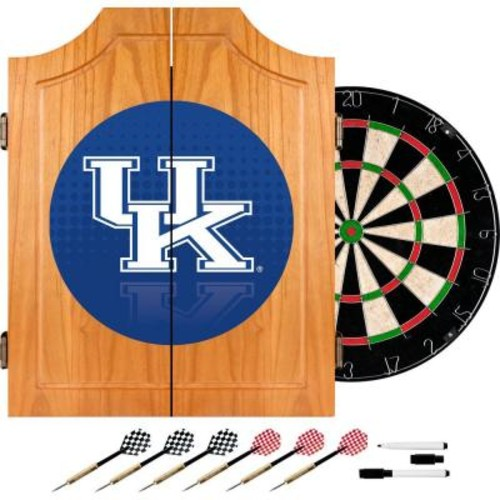 Trademark University of Kentucky Reflection 20.5 in. Wood Dart Cabinet Set