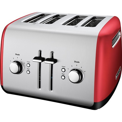 KitchenAid KMT4115ER Toaster with Manual High-Lift Lever, Empire Red [Empire Red]