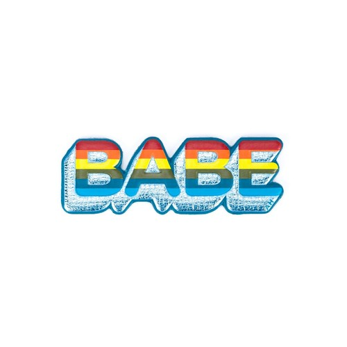 ANYA HINDMARCH 'Babe' Sticker
