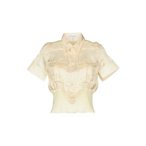 BALENCIAGA Solid Color Shirts & Blouses