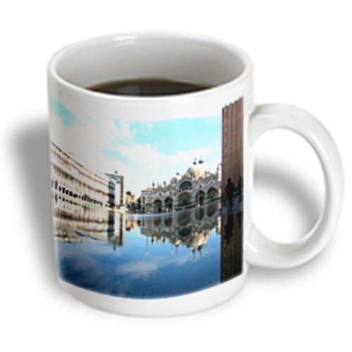 3dRose - Vacation Spots - Piazza San Marco Venezia Italy - 15 oz mug