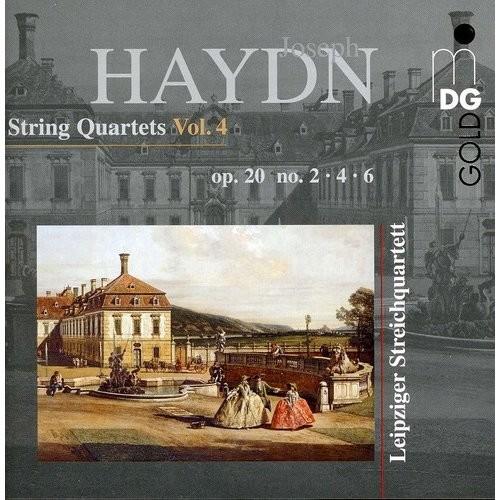 Haydn: String Quartets, Vol. 4 [CD]