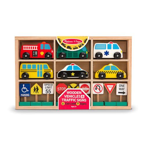 Melissa & Doug Vehicles & Traffic Signs