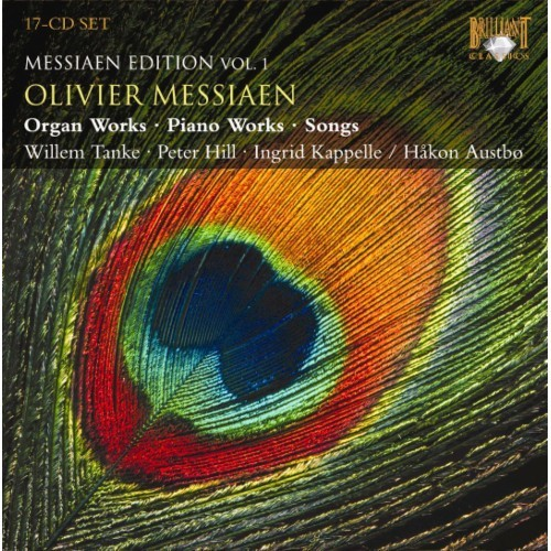 Messiaen Edition, Vol. 1: Organ Works, Piano Works, Songs [CD]