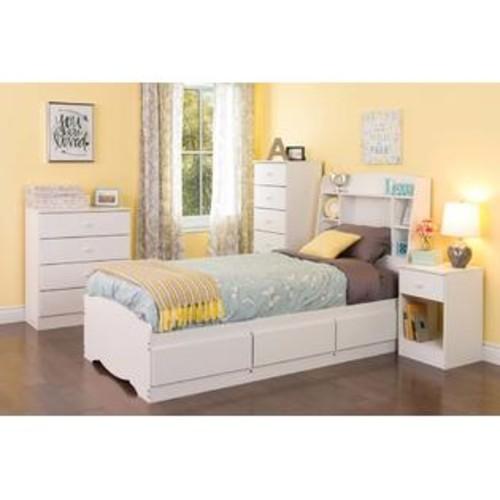 Prepac Astrid 4-Drawer Dresser White