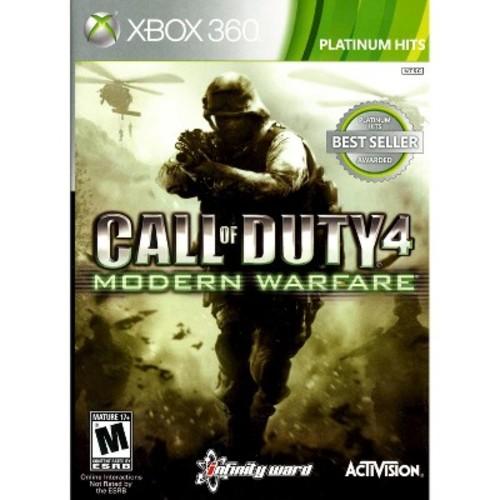 Call of Duty 4: Modern Warfare Platinum Hits Xbox 360
