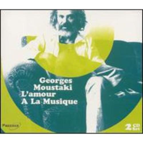 L' Amour a la Musique [Pazzazz] By L' Georges Moustaki (Audio CD)
