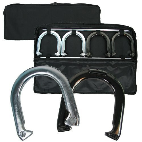 Trademark Games Horseshoe Set with Carrying Case