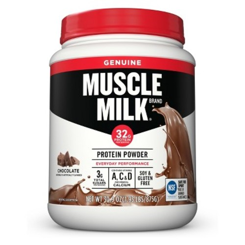 Muscle Milk Lean Muscle Protein Chocolate Powder - 1.93 lb