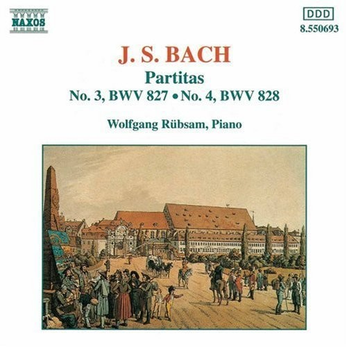 J. S. Bach: Partitas No. 3, BWV 827 / Partitas No. 4, BWV 828