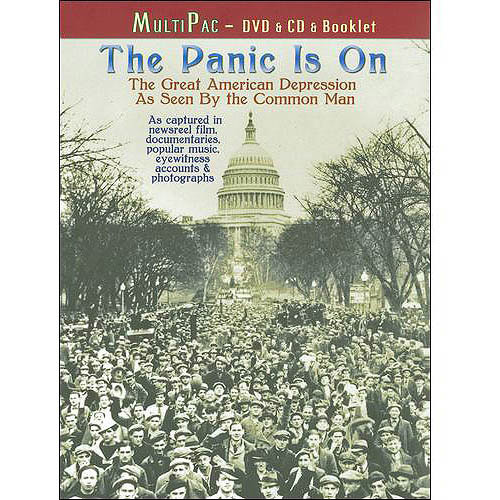 The Panic Is On: The Great American Depression as Seen by the Common Man [DVD/CD] [With Booklet] [DVD] [2009]