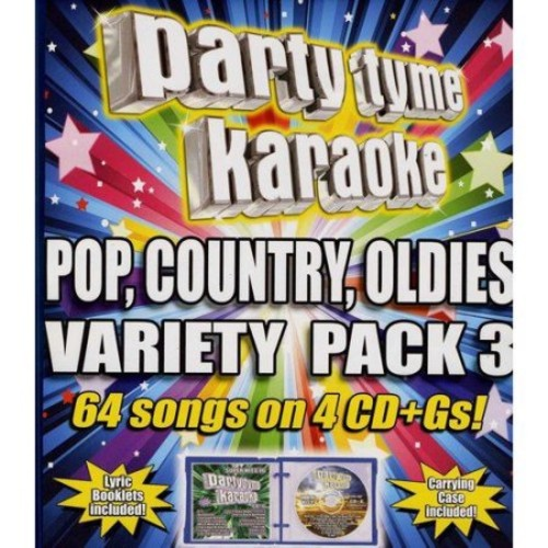 Party Tyme Karaoke: Pop, Country, Oldies Variety Pack, Vol. 3 [CD + G]