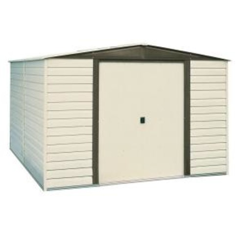 Arrow Dallas 10 ft. x 6 ft. Vinyl Storage Building