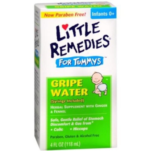 Little Remedies For Tummys Gripe Water