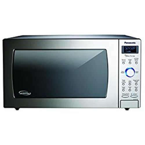 Panasonic 1.6 Cu. Ft. Built-In/Countertop Cyclonic Wave Microwave Oven with Inverter Technology - Stainless Steel