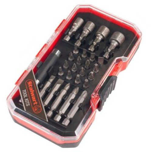 Stalwart Power Bit and SAE Nut Driver Set (26-Piece)