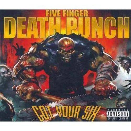 Five finger death pu - Got your six [Explicit Lyrics] (CD)