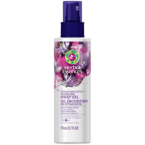 Herbal Essences Tousle Me Softly Tousling Spray Gel, Extra Hold 2, Violet Splash Fragrance, 5.7 fl oz (170 ml)