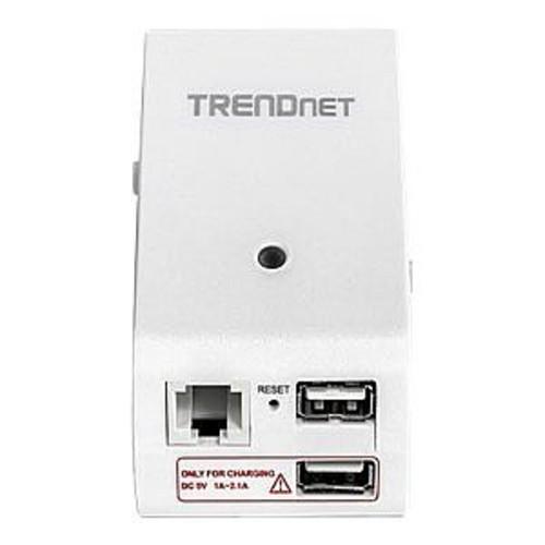 TRENDnet TEW-714TRU - Wireless router - 802.11b/g/n - wall-pluggable