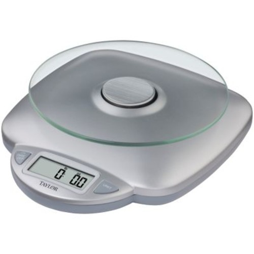 Taylor 11 lbs. Glass Digital Kitchen Scale
