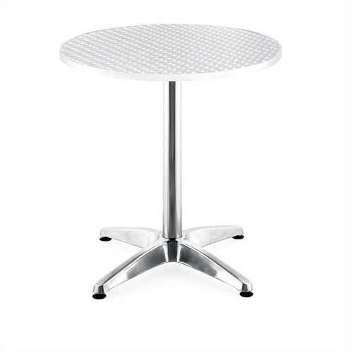 Zuo Outdoor Christabel Round Aluminum Table