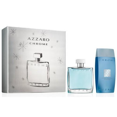 Azzaro Chrome Eau De Toilette Fragrance Gift Set - Men's