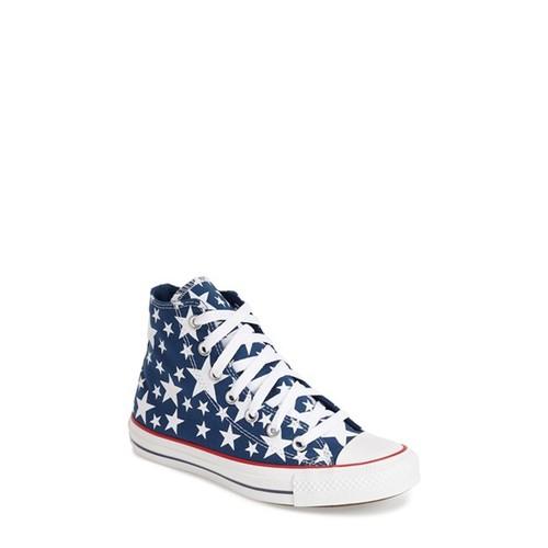 Chuck Taylor All Star 'Multi Star' High Top Sneaker (Women)
