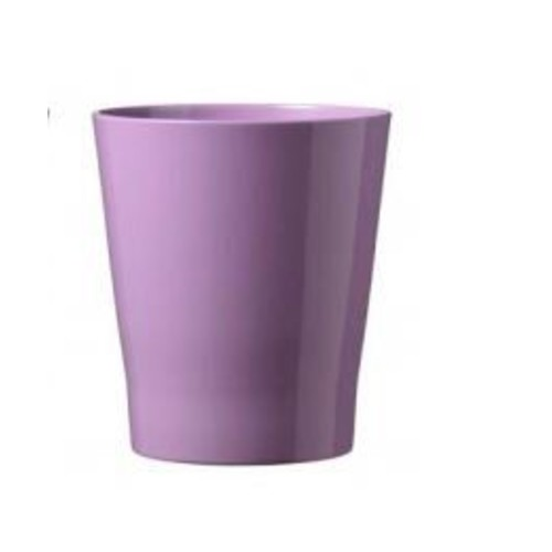 SKUSA Malaga Clay Pot Planter; Shiny Lavender