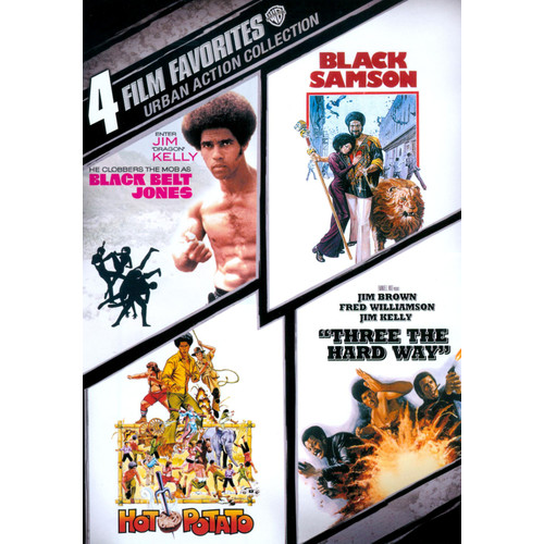 Urban Action Collection: 4 Film Favorites [2 Discs] [DVD]