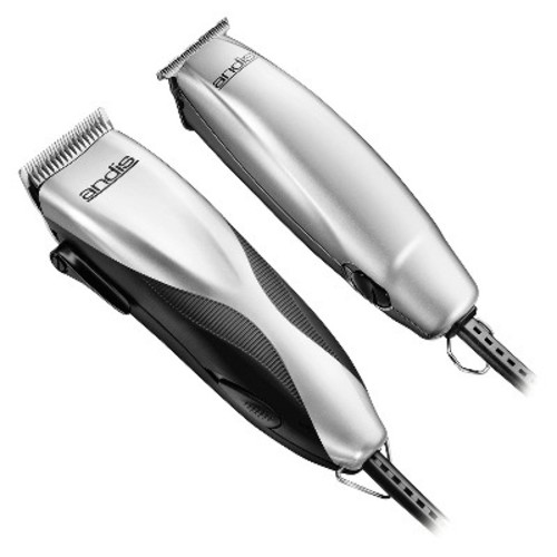 Andis ProMotor+ Men's Electric Clipper & Trimmer Combo 27 Piece Haircutting Kit - 29115