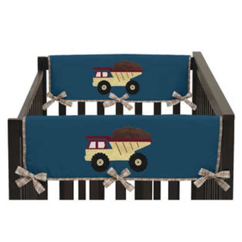 Sweet Jojo Designs Construction Zone Collection Side Crib-rail Guard Covers (Set of 2)