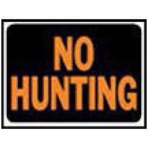 Hy-Ko No Hunting Sign (Set of 10)