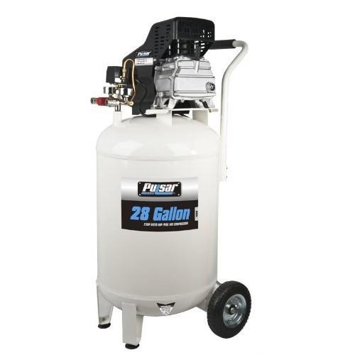 Pulsar PCE6280 Vertical Electrical Air Compressor, 28-Gallon [28-Gallon Vertical]